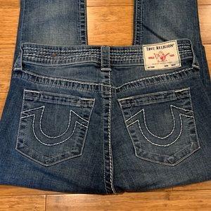 True Religion Indigo Jenny Curvy Skinny Jeans